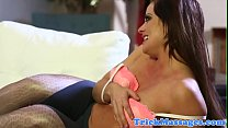 Taboo massaged stepmom fucked by stepson preview image