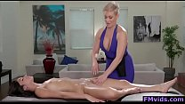 Ryan Keely and Emily Willis hot lesbian massage
