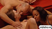 Horny couples enjoyed massive group sex in the ... thumb