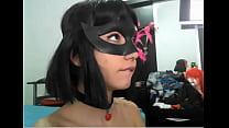 Masked girl gets a cumshot - girl's profile at ...