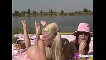 Young Teen Whip Creamers Piper Fawn & Lucie Smo