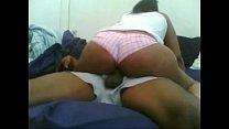 big ass riding with panties on