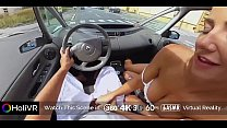 HoliVR   Car Sex Adventure,100% real driving [VR Porn]