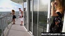 Beautiful Britney Amber makes stepson cheat after BJ
