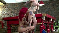 Pinup dolls Becky Holt & Belle Black fulfill their insatiable pussy desires thumbnail