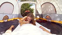 VRBangers.com ANYA OLSEN ROCKING THE TENT AND GETTING FUCKED OUTDOORS Preview