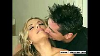 Gorgeous couple doing it on bed pornhub video