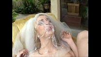Kelly Wells, gangbang bride video