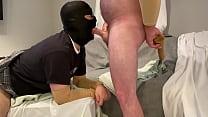 Faggot Fed Huge Birthday Nut From His Straight