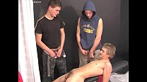 18 Twinks -  2x Cum Eating and Pissing Image