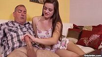 Screenshot Teen Wants To Try Her Handjob Skills On Mature Man