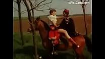 Vintage horse ride fuck