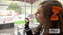 Young Skylar Snow meets up with guy from dating site for anal - 9Club.Top