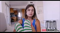 Teen Stepdaughter Sucking Daddy's Big Cock video