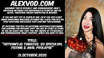 Hotkinkyjo Tomatos  Xo Speculum  Fisting & Anal