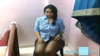 Busty Indian Lily expose her Boobs , Sexy Ass o...