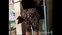 big booty on leggings