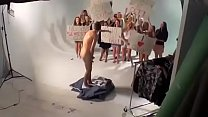 Guy tricked into stripping naked prank on live tv