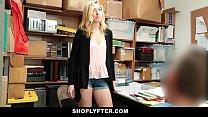 Shoplyfter - Prevention Officer Cuffs & Fucks Blonde Thief Preview