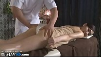 Japanese massage sex with beautiful babe - 9Club.Top