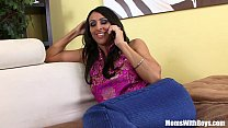 Horny MILF Raven Black Sticking A BBC Into Her ... Thumbnail