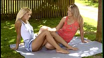 Enchanting teen beauties are plan to perform great cunnilinguses Thumbnail