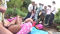 Uncensored JAV  group of gyaru farm sex party  farm sex party Subtitles