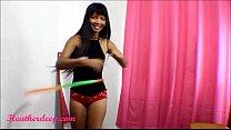 Heher Deep hula hoop creamthro thropie thai teen trailer - 9Club.Top