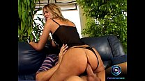 Alluring blonde Avril prefers the biggest dick for her craving pussy