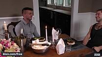 Dinner and dicking Trailer Aspen and Jake Ashford - Men.com