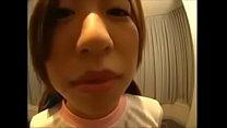 体操着の女の 子の舌技