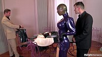 Screenshot Super Kinky Latex Lucy Fucked Hard With Intense