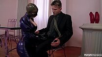 Super Kinky Latex Lucy Fucked Hard with Intense Squirting Preview