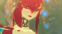 link and mipha legend of zelda breathe of the wild done by sableserviette thumbnail