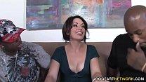 Anal Slut Sarah Shevon Interracial DP Preview