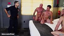 (Tristan Jaxx, Sean Duran, Colton Grey, Diego Sans, Allen Lucas) - Fugitives Part 3 - Trailer preview - Men.com