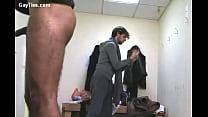 Spy cam in the men's' locker room