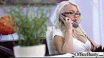 (gigi allens) Big Tits Office Slut Girl Get Hard Style Nailed video-17