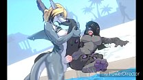 Shark and Panther Poolside Anal Fucking thumbnail