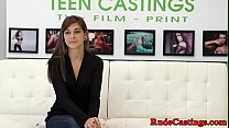 Casting tattooed teen cockriding in bdsm preview image