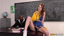 Cheerleader Teen Alex Blake Wants Coach Prince Yahshua's BBC
