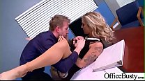 Hot Big Tits Girl (Kleio Valentien) Hard Nailed In Office mov-18