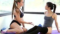 Tiny teen lick lez at gym tumblr xxx video