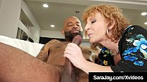 Thick Divorced Diva Sara Jay Dark Dicked By Big Black Cock! Preview