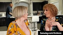 Thick Divorced Diva Sara Jay Dark Dicked By Big...