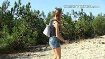 cute teen nude at beach thumbnail