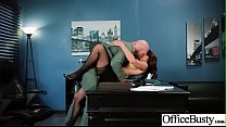Hot Sex In Office With Big Round Boobs Girl (Isis Love) video-09