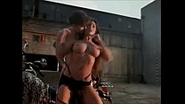 Nikki Fritz hot biker sex scene (Virtual Encounters 2)