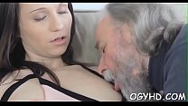 Free download video bokep Horny old dude teases juvenile babe