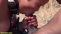 brutal african fetish fuck lesson at the savannah Vorschaubild